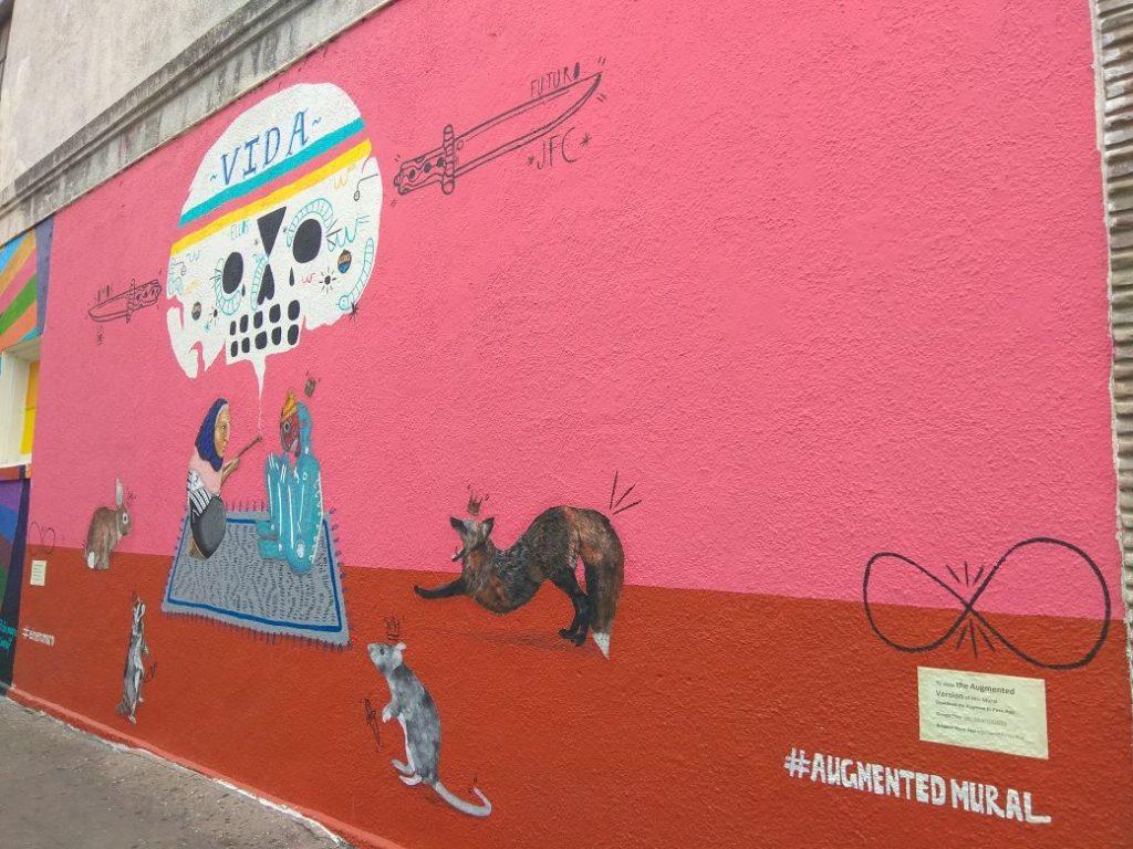 Augmented mural
