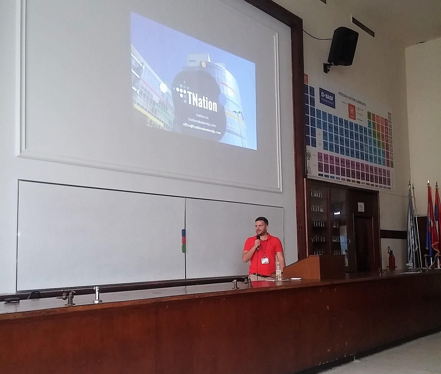 Prezentacija na Matematičkom fakultetu