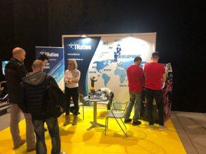 visitors on tnation stand- Itkonekt