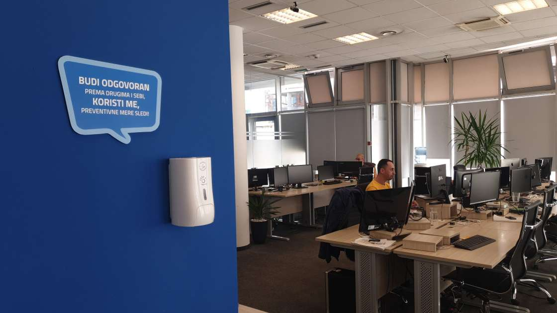 Tnation office during coronavirus outbreak
