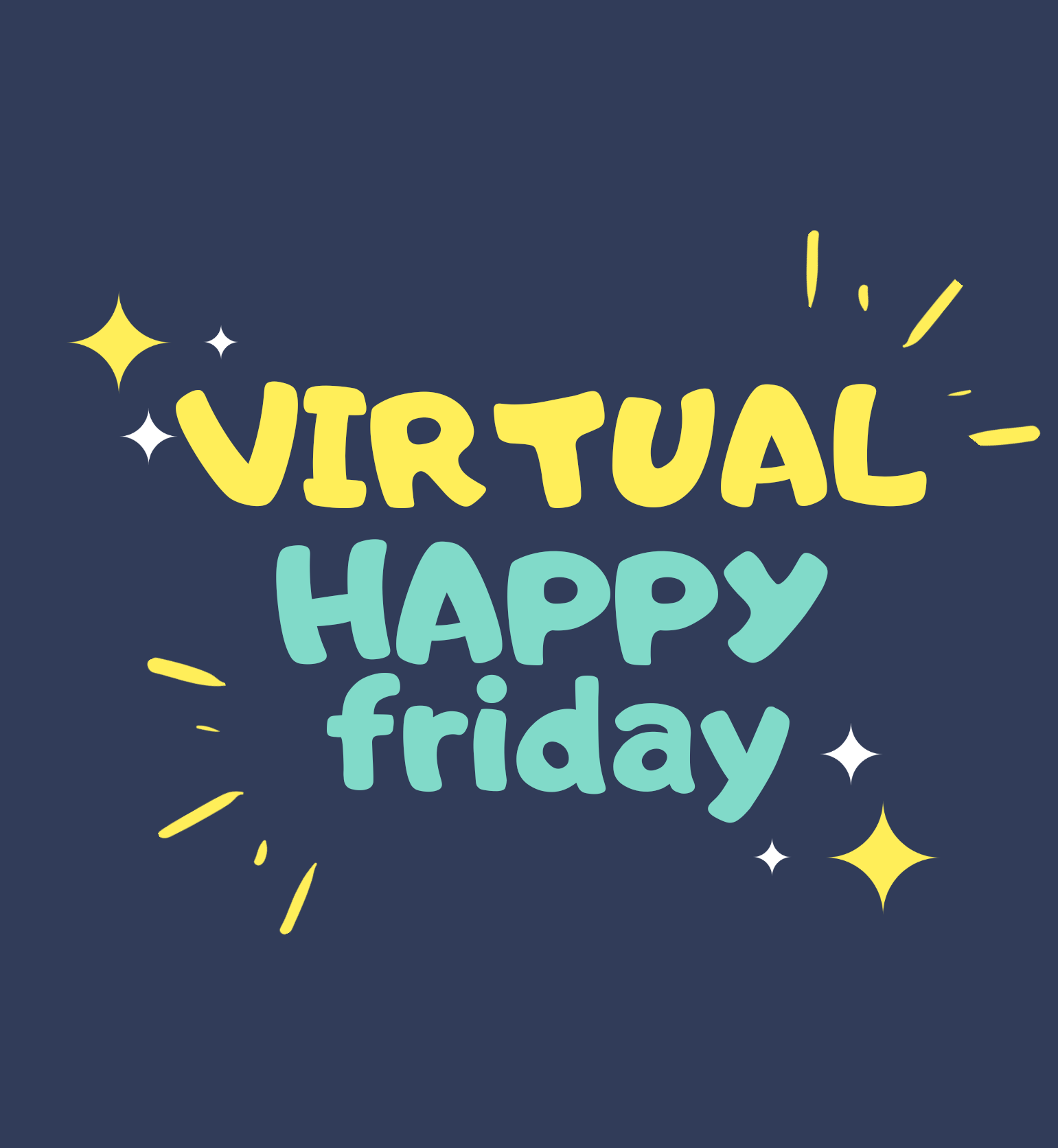 virtual happy friday