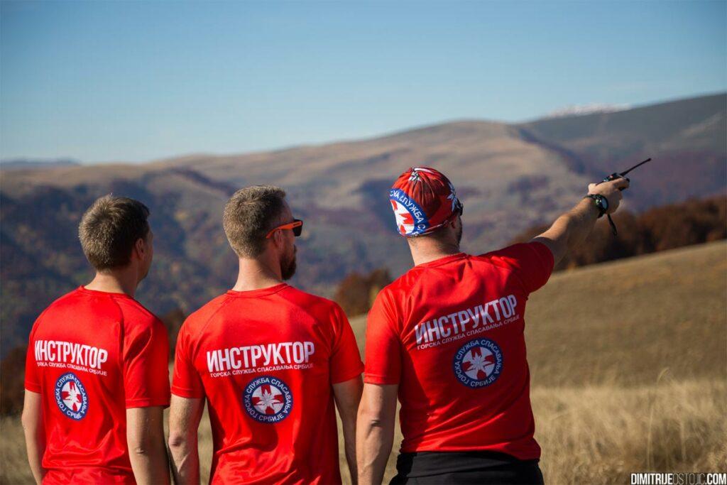 mountain rescue service serbia, instructors