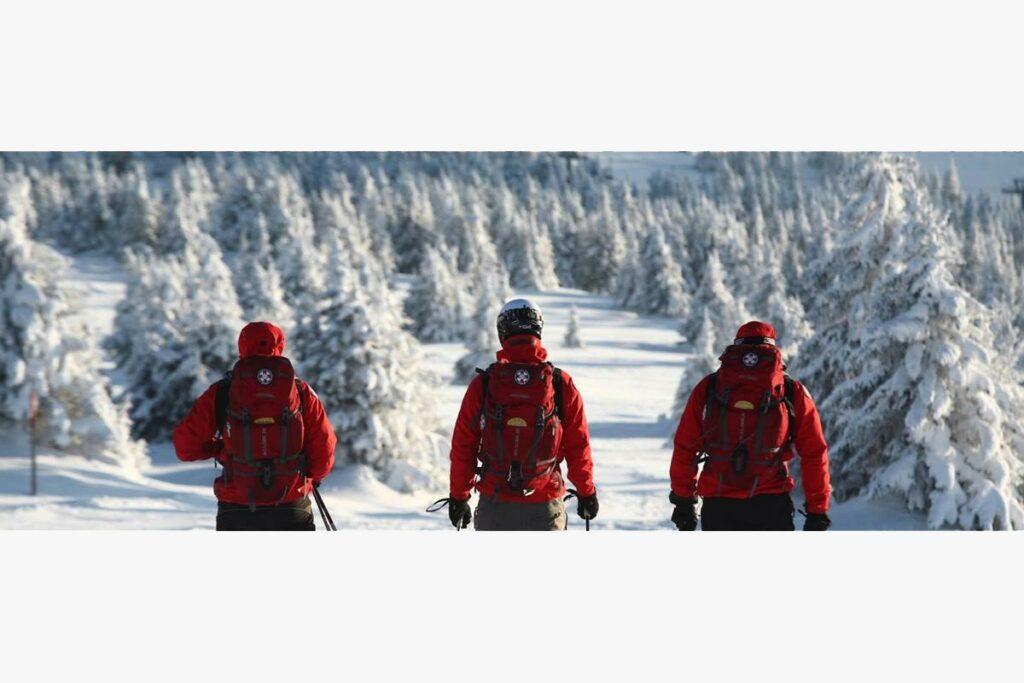 mountain rescue service serbia, snow