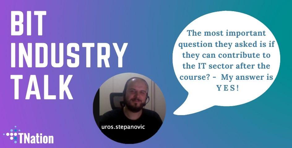 TNation developer on Industry talk