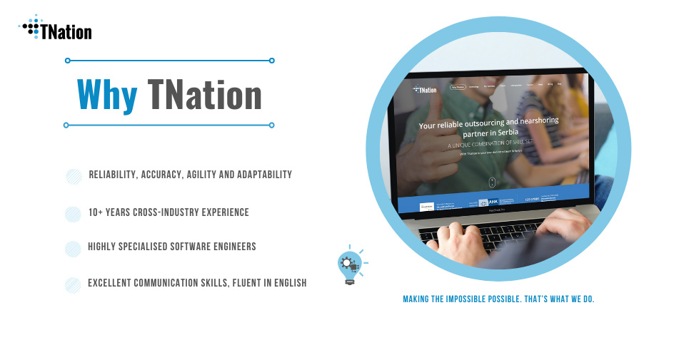 TNation as Reliable Outsourcing and Nearshoring Partner in Serbia